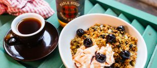 Maple Olive Oil Walnut Granola